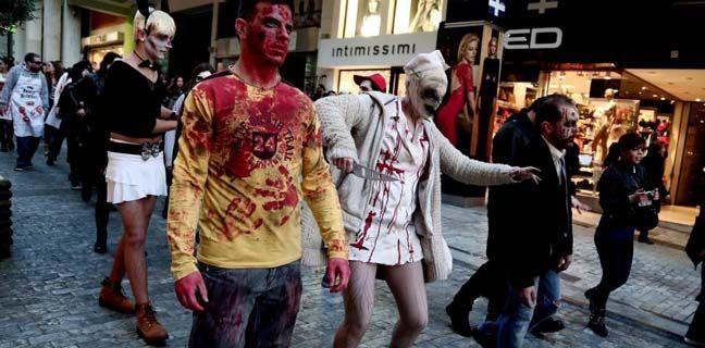 Το Zombie Walk επιστρέφει στους δρόμους της Αθήνας – (φωτο)