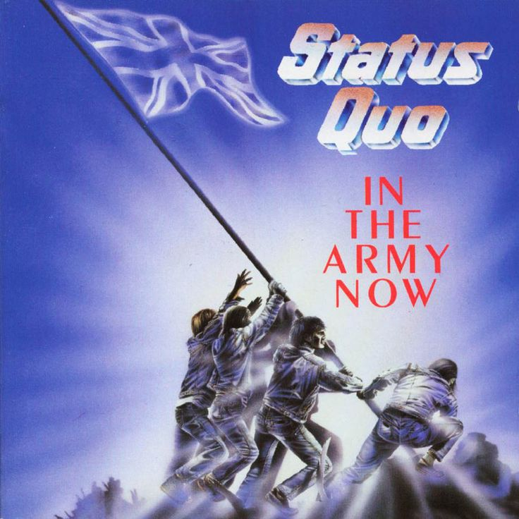 Carátula Frontal de Status Quo - In The Army Now