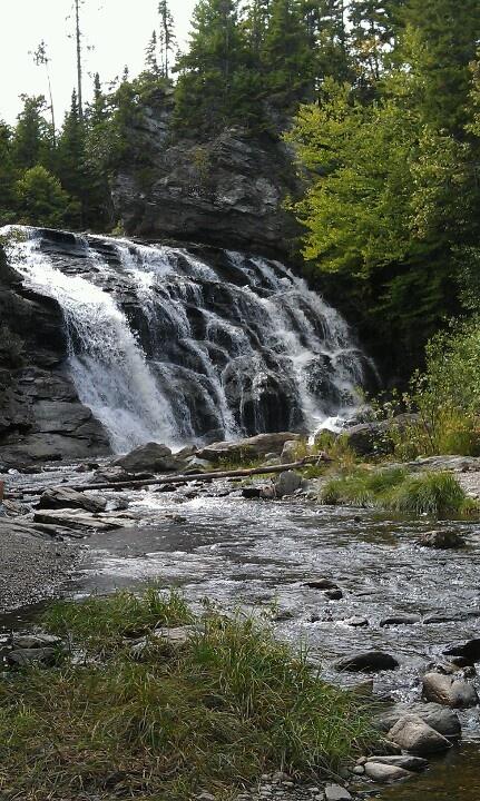 Laverty falls! fundy national park