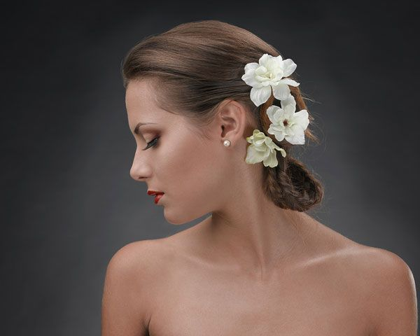 warm romantic bridesmaids hairstyles | beauty wedding 28 Provocative Simple Wedding Hairstyles