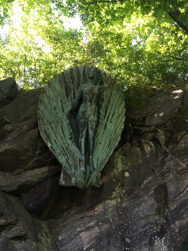 Gallionsfigur , Hvitsten ,Norway
