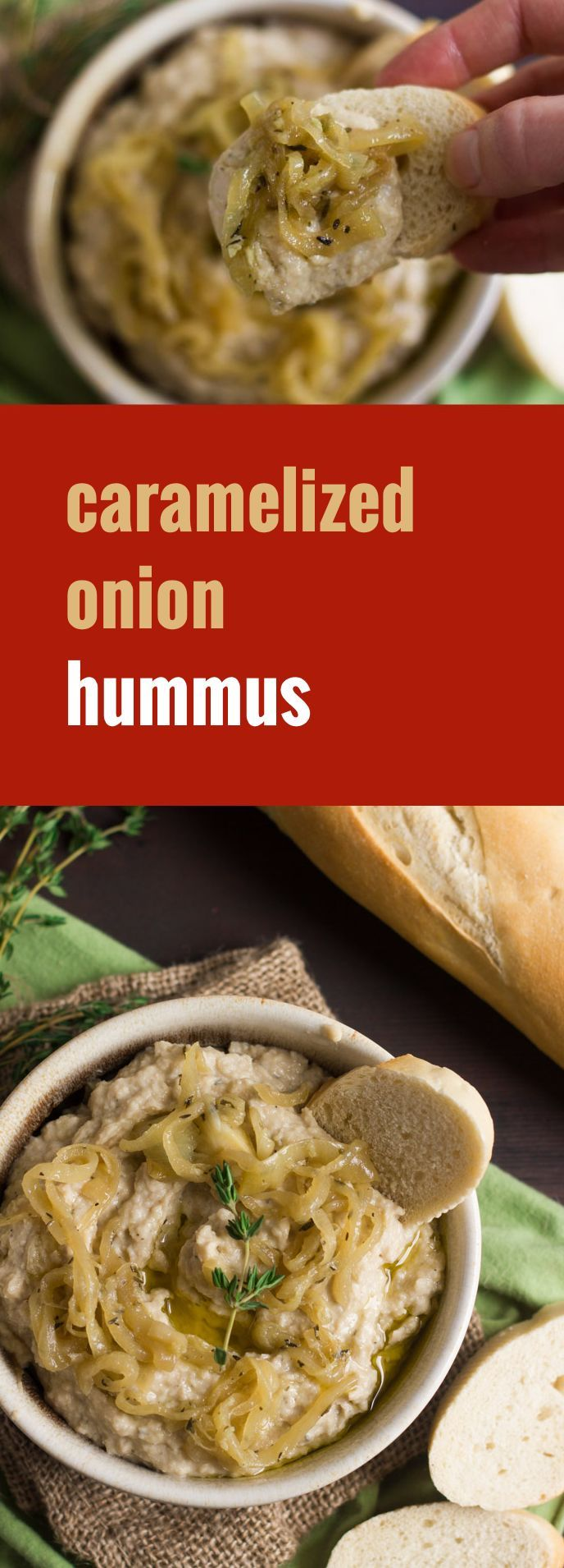 Caramelized Onion Hummus