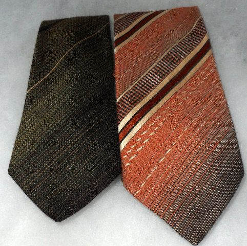 1970s VINTAGE FREDERIC A Ties  Distinguished Cravats by socialtyes