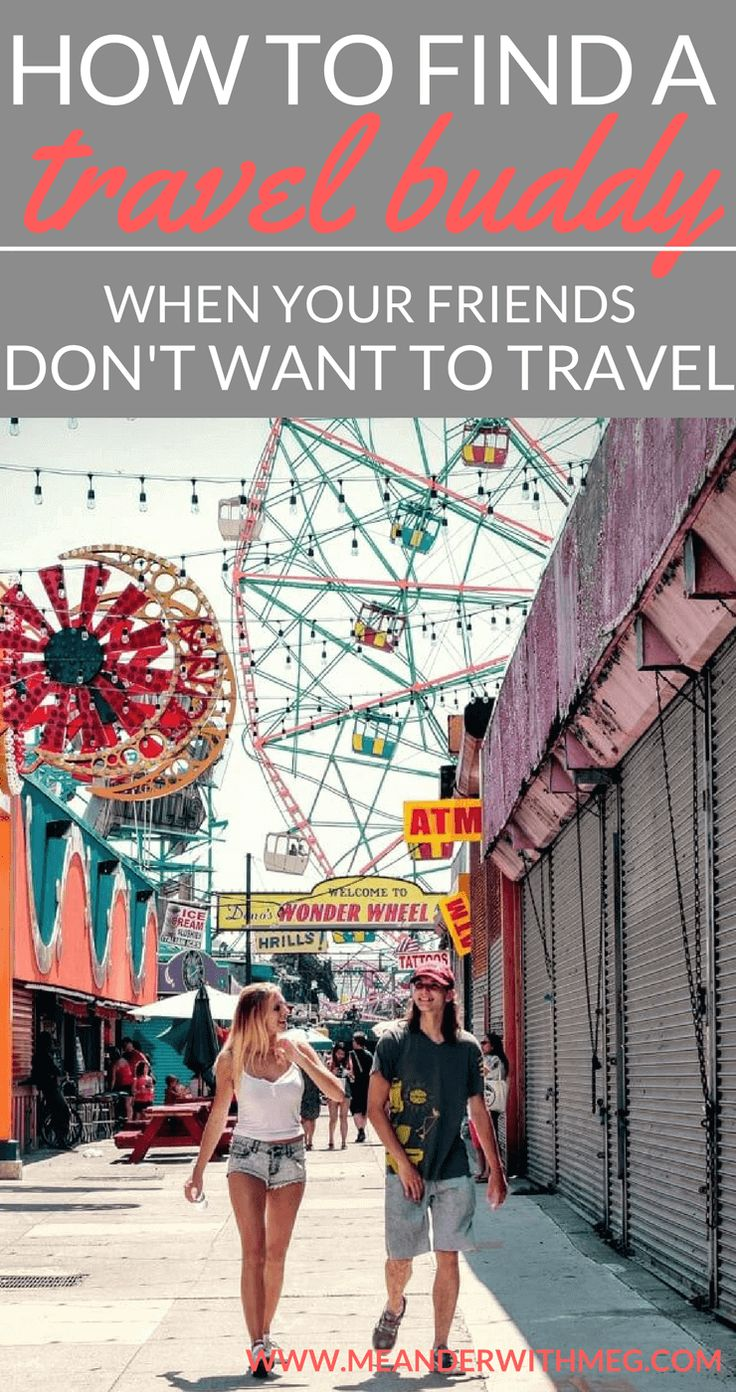 How to find a travel buddy when you travel alone. Are you travelling solo and wondering how to make friends when travelling? Are you nervous about your upcoming trip and want some ideas on how to meet people.