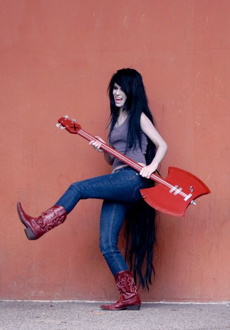 Halloween costume idea for this year - Marceline the Vampire Queen from Adventure Time