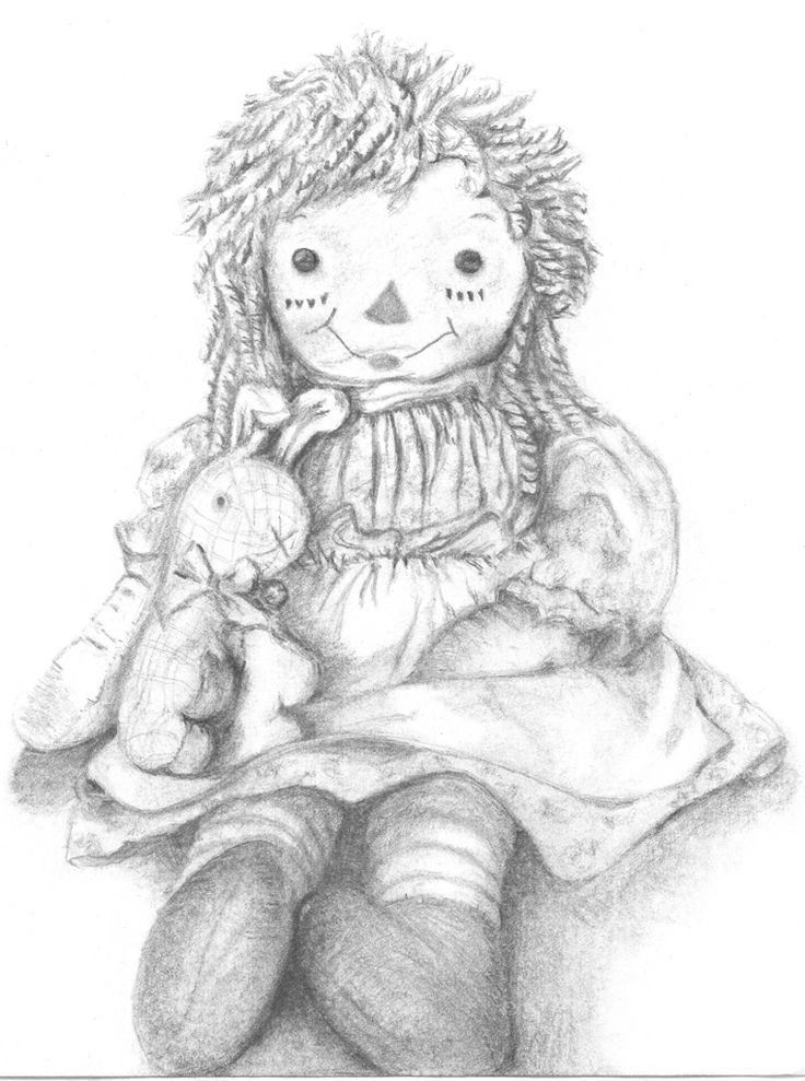 rag dolls printable coloring pages - photo#32