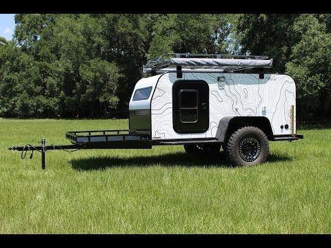 Panther A-2 Expedition Trailer 5x10 - YouTube
