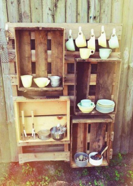 Outdoor Storage Eyfs Mud Kitchen 41 Ideas #kitchen # ...