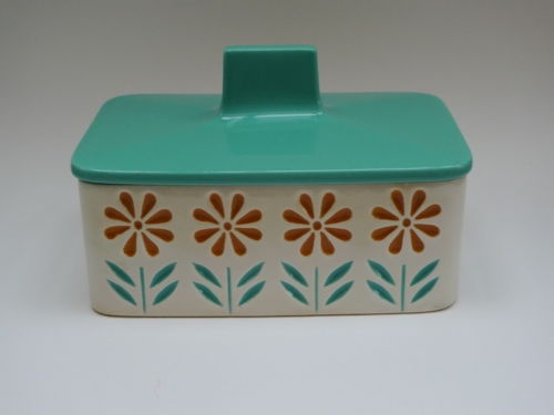 springtime butter dish by Hornsea Pottery. I have one of these!