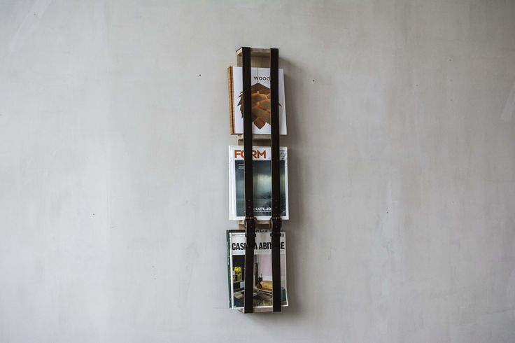 Reader 2 magazine rack. Design Pontus Ny for Möbelverket.