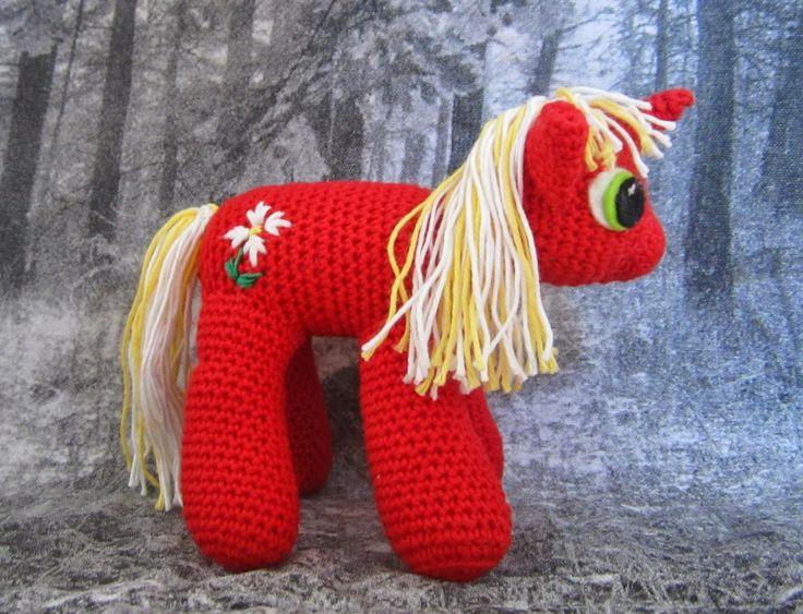 My Little Pony, freestyle, hæklet