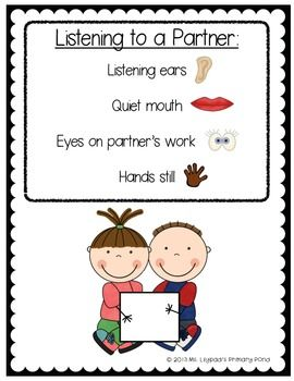 Kindergarten writing minilessons for the beginning of the year - setting up the writer's workshop