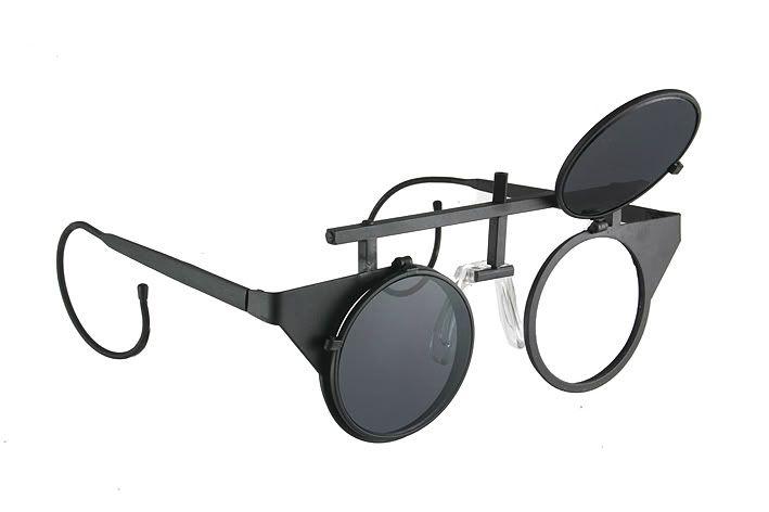 metal flipup steampunk sunglasses mask | hitek-webstore.com