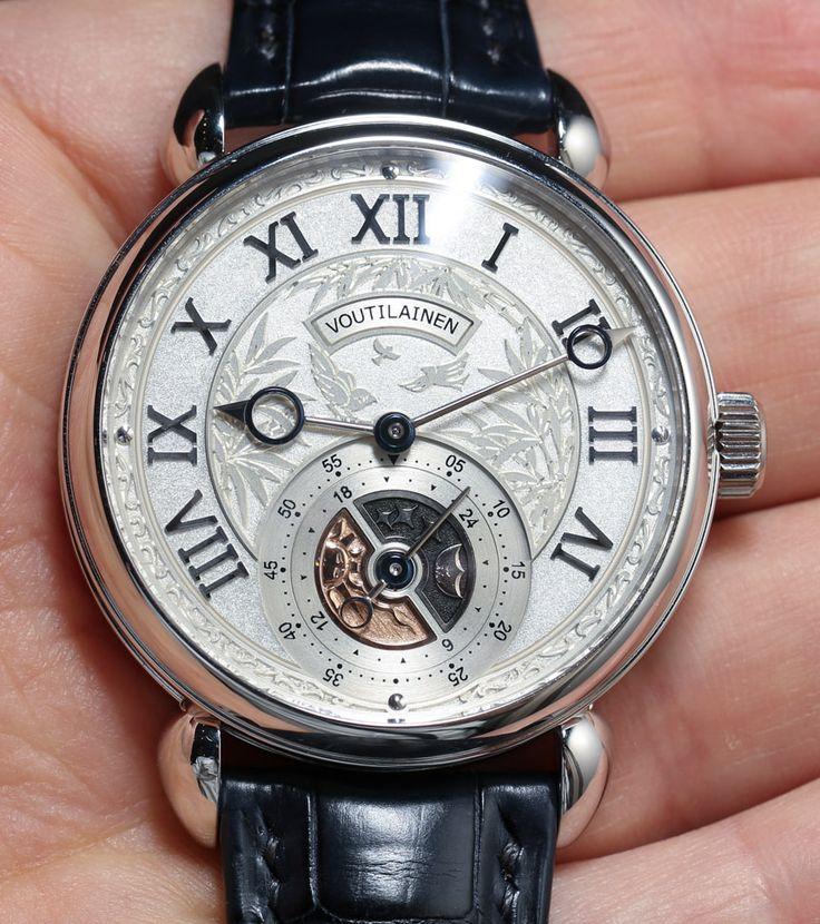 Voutilainen GMT Six O'Clock Watch Hands-On