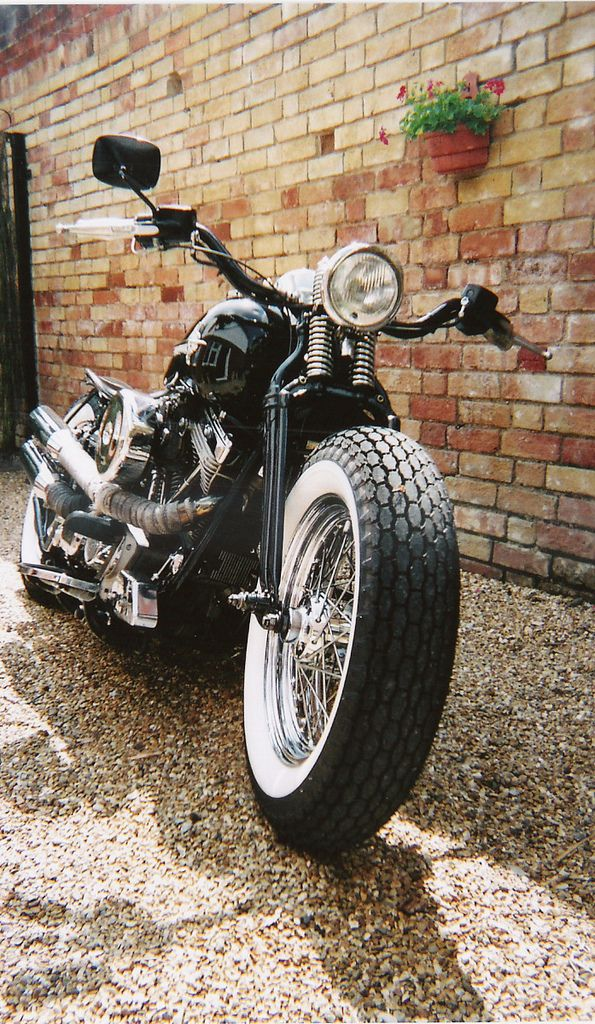 96ci Harley softail Bobber | WIth different bars. | southamptonmush | Flickr