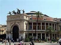 Sicilia Palermo - TEATRO POLITEAMA