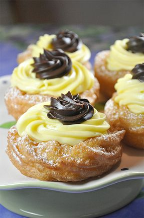 I'll be getting me some of these for sure!...Zeppole di San Giuseppe by Food Lover's Odyssey.