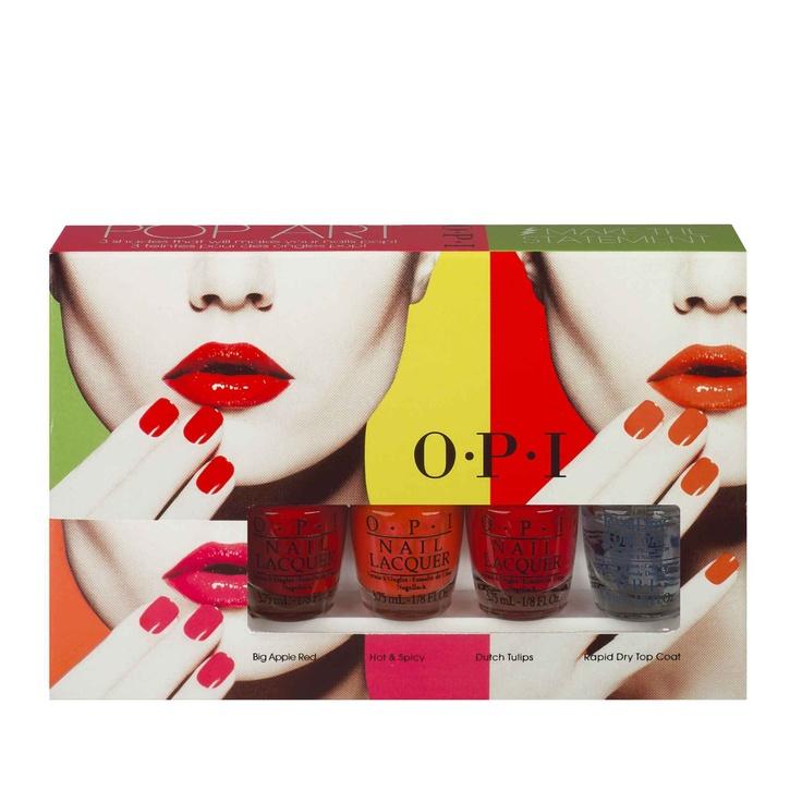 """Kit """"Pop Art"""" - OPI - 20 €"""
