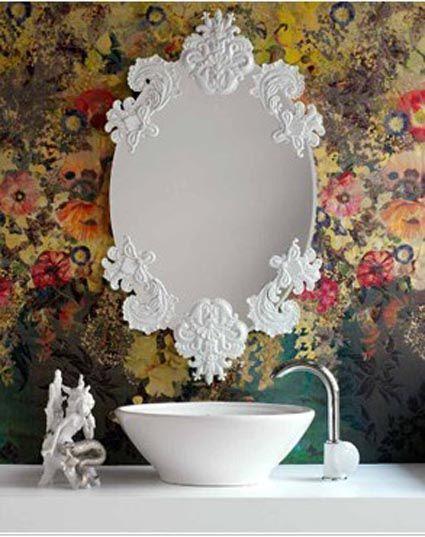 M s de 25 ideas incre bles sobre espejos vintage en for Espejos pequenos vintage