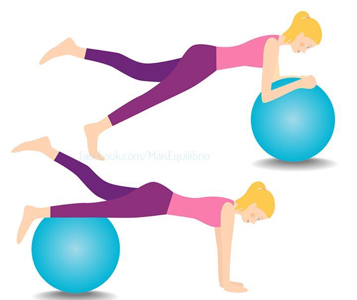 Tem bola de pilates em casa, mas não sabe como usá-la? Olha as nossas sugestões! http://goo.gl/j7cliW #fintess #pilates #emagrecer