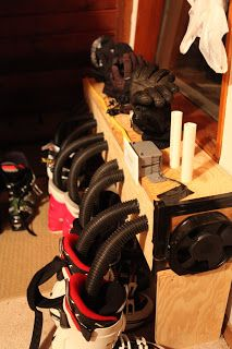 CB: DIY Boot and Glove Dryer