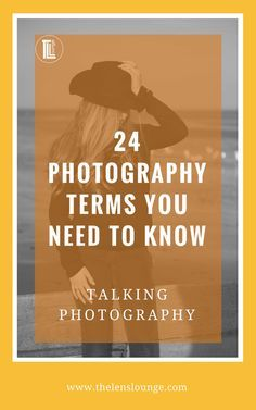"The best jargon busting list of photography terms every photographer needs to know. Learn to ""speak photographer"" so that you can learn how to take better photos. Click through for loadsa info >> #phototips"