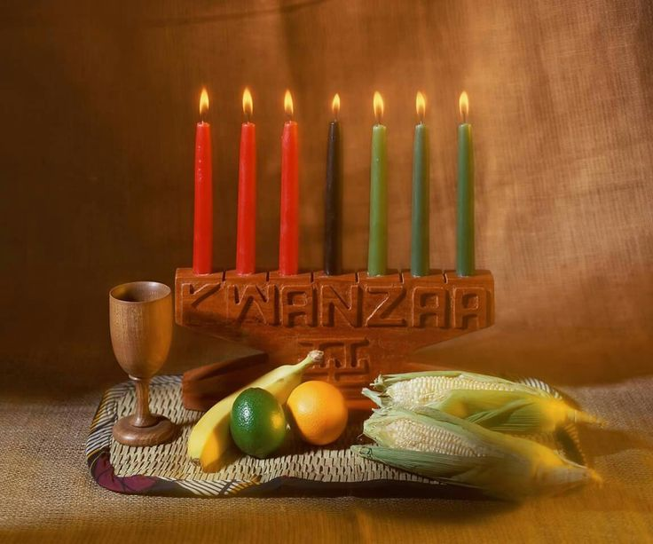 Happy Kwanzaa! Today marks the first day of the week-long