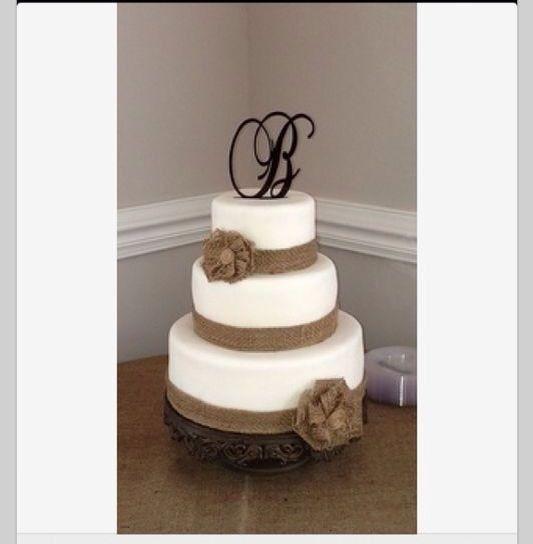 Cake Rustic wedding