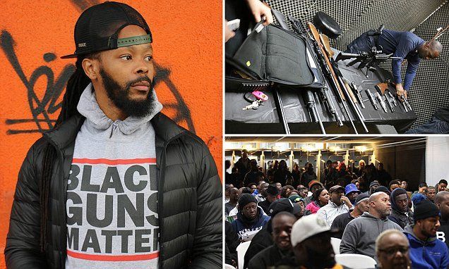 Black Guns Matter campaigner claims legal firearms can cut violence