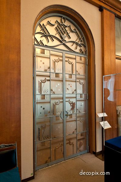 173 best art deco architectural elements images on for Art deco interior doors home