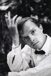 Young Truman Capote, brilliant Southern writer