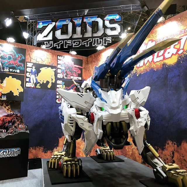 ZOIDS!! Wild Liger spotted at AnimeJapan2018 Anime japan