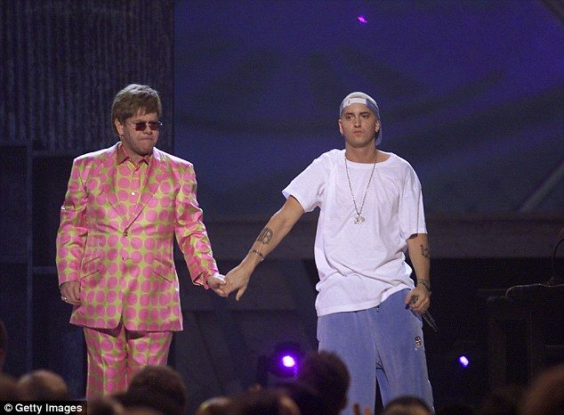 Eminem and Elton John's 'Stan' easily goes down in history as one of the most incredible GRAMMY history. Iconic singer-songwriter, Elton John, made more than just a style statement in his attention-grabbing pink polka-dot suit. He also joined Eminem on stage for a stunning performance of the rapper's heartwrenching song, Stan, singing what had previously been Dido's chorus reprise.
