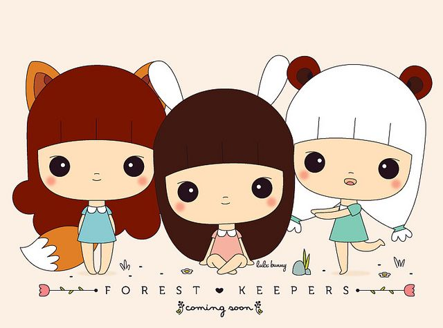 Kawaii Forest Keepers - By Luli Bunny