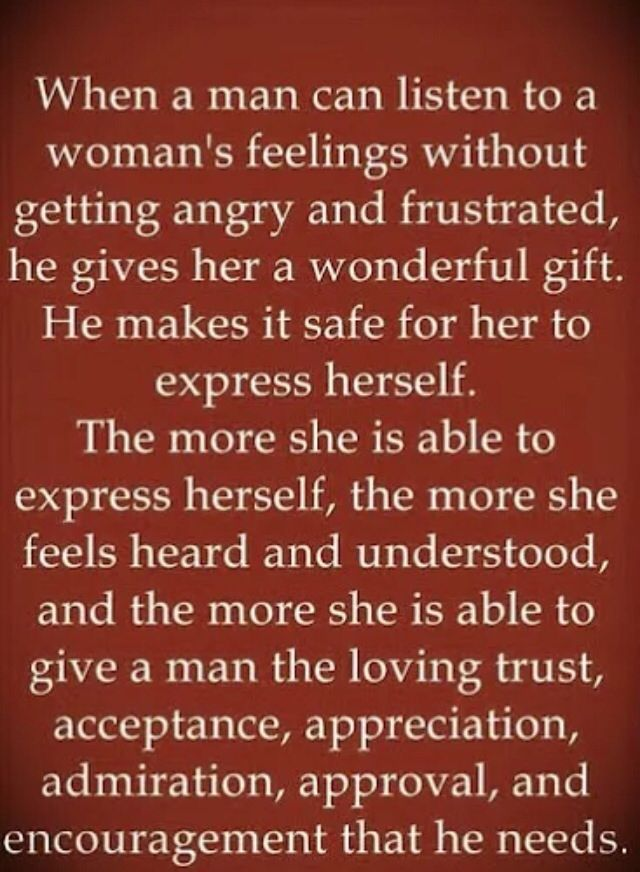 Sweet words to tell a woman