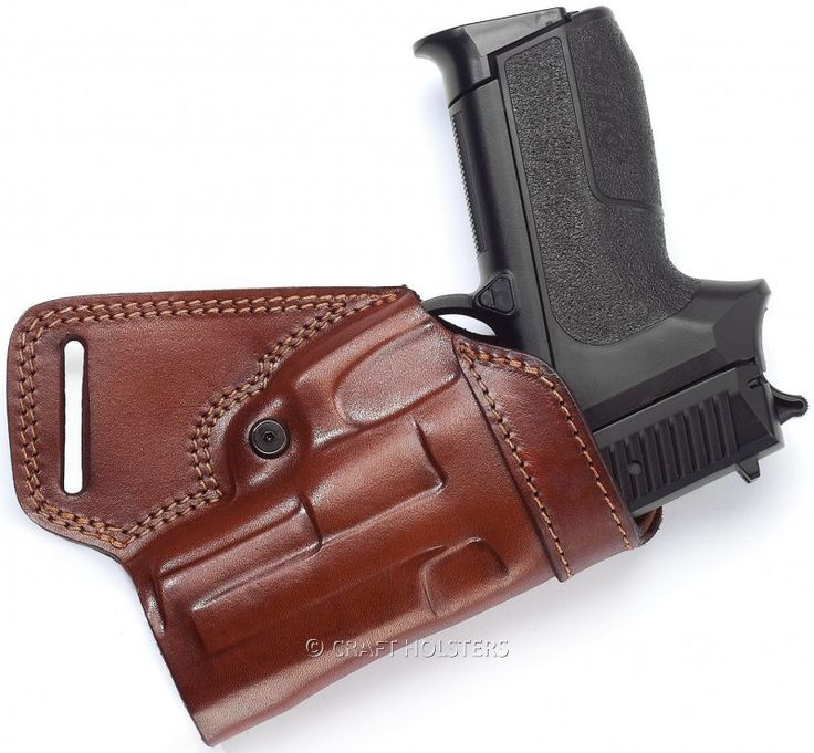 Sob (Small Of Back) Leather Belt Holster | Craft Holsters®