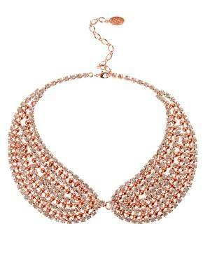 Colletto perle d'oro