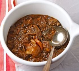 Slow Cooker African Oxtail Stew