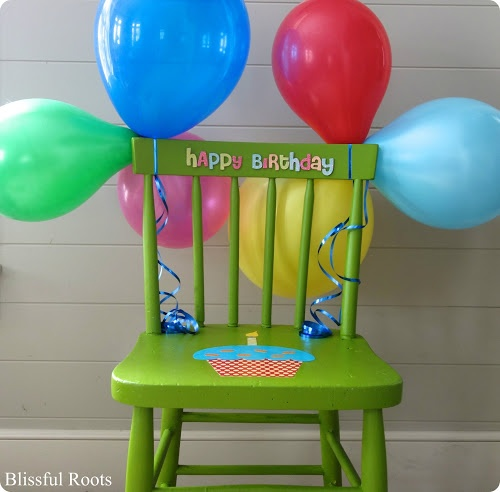Birthday Chair & Other Favorite Birthday Traditions