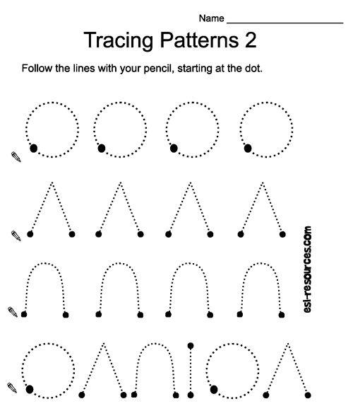 tracing homeschool pinterest patterns and worksheets. Black Bedroom Furniture Sets. Home Design Ideas