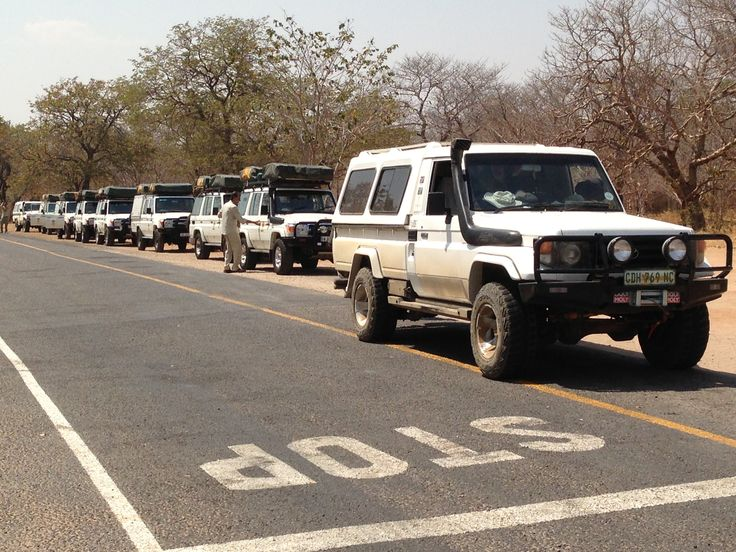 Land Cruiser Safari in Africa
