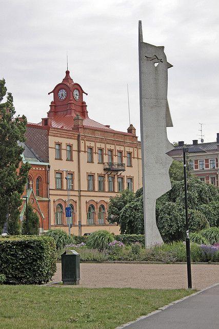 Picasso Sculpture, Kvinnohuvud, Halmstad, Sweden