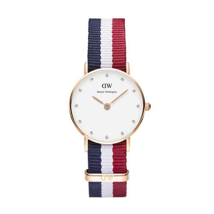 Daniel Wellington's CLASSY CAMBRIDGE rose gold watch available at www.mulierstore.com