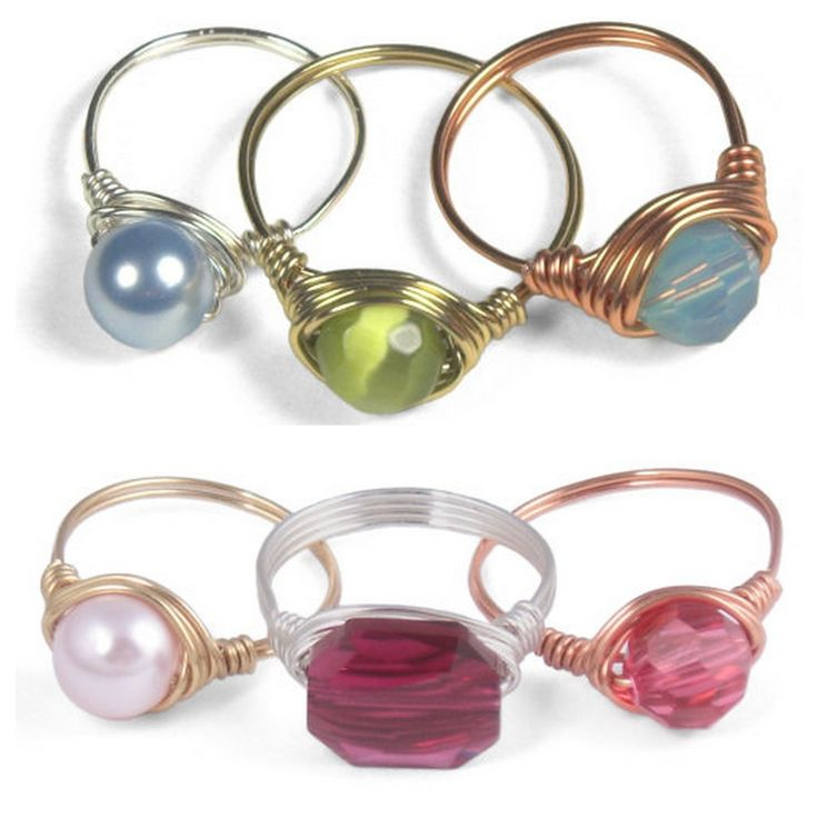 505 best Jewelry Tutorials: Wire images on Pinterest | Wire wrapping ...