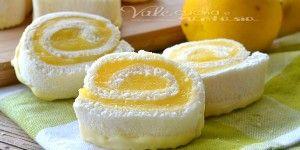 Girelle con crema al limone e cioccolato bianco