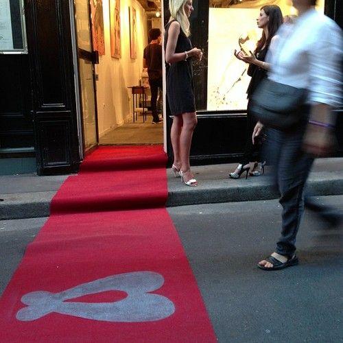 #Vernissage de Rachel Bergeret dans le Marais le 5 septembre 2013 à #Paris