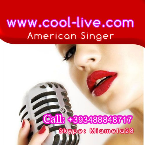 American Singer Mother tongue ,Best singers for house ,edm,progressive ,deep house,rap ,R&B. Call for info +393488848717  or skype : miamela28  The Virtual Agency The Real Singer.