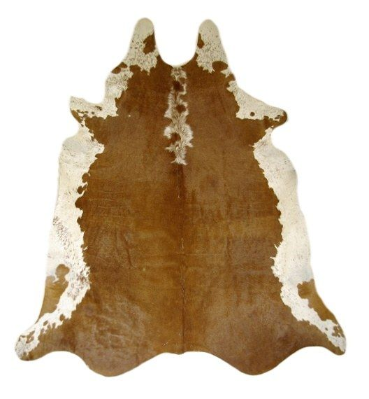 Alfombra Piel de Vaca Natural Hereford CH-1324 Cowhide Rug Kuhfell