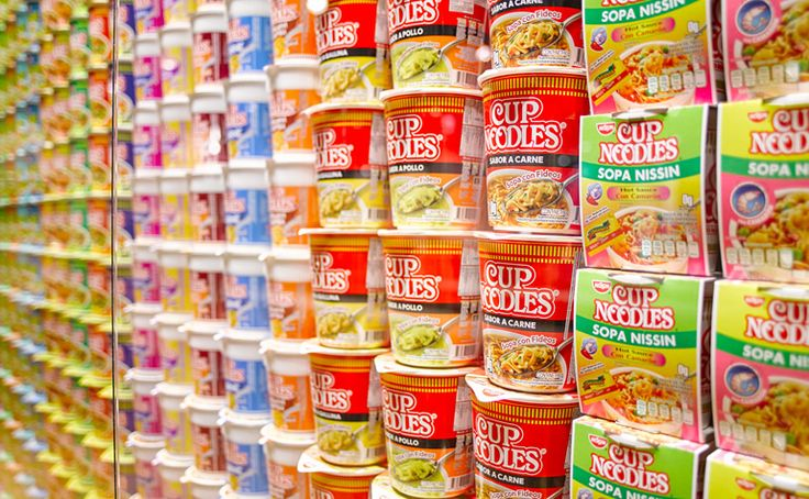 Exhibition of Instant Noodles - A Favorite Food Worldwide | The Momofuku Ando Instant Ramen Museum