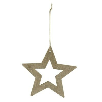 House Doctor Ornament Star Træ